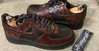 ffb172417b3 Nike Air Force 1 Low Crocodile Lux 25th Off Supreme Anakeskin 97 95 9 Eminem