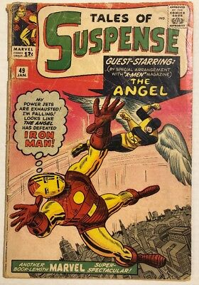 1964 Tales Of Suspense #49 Iron Man 1St Avengers Xover 1St X-Men Xover Watcher
