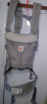 Ergobaby Adapt 3 Position Baby Carrier, Pearl Grey, 7-45 lbs. Ergo