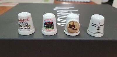 4 x ACT (Canberra) thimbles collectable