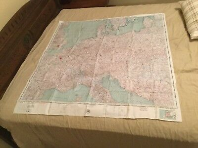 Large USAF Silk Escape Map Of Russia-(CL 201) and (CL 200)