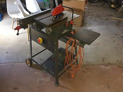 Table Saw / Planer Combination. 1960's, Cast Iron, Very Heavy