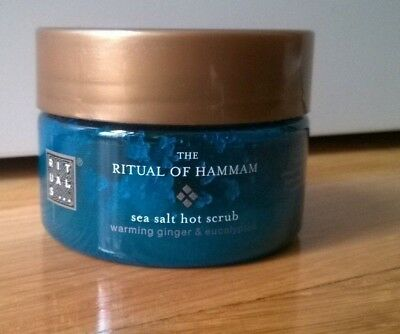 RITUALS The Ritual of Hammam Sea salt Hot Body Scrub travel size 125g