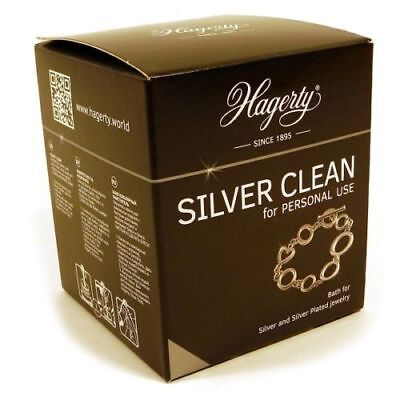 Hagerty Silver Clean 925 Jewellers Jewellery cleaner dip  170ml