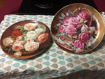 Plates As New. Roses. Retro. Collectable. $10 Each Post/Pickup Kilcunda