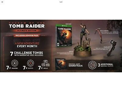Shadow of the Tomb Raider Ultimate Collectors Edition - Xbox One