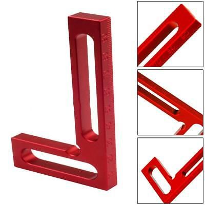 Alloy L-Square Angle Ruler Positioning Squares Woodworking Measuring Clamps Tool