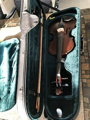 Violin 3/4, Case And Bow
