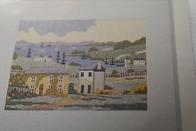 Two new unused Family Circle long stitch kits old Sydney cove and houses