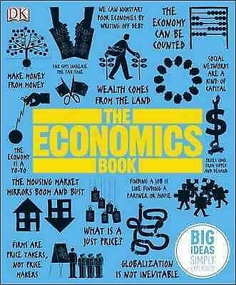 Economics Book : Big Ideas Simply Explained, Hardcover by Kishtainy, Niall (EDT)