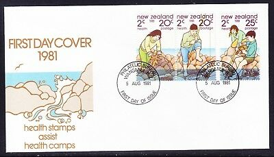 "New Zealand  1981 Health ""Official"" First Day Cover"