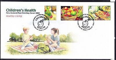 New Zealand  2002 Children's Health First Day Cover