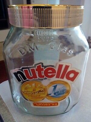 Nutella DM -Glas