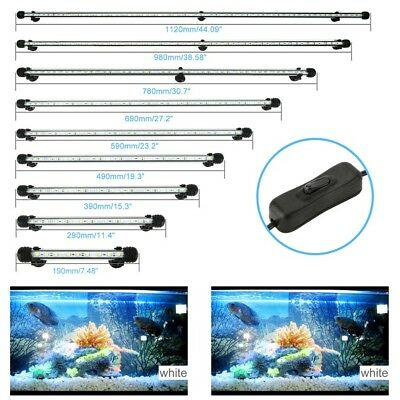 Underwater Submersible Aquarium Fish Tank Light Color Changing LED+ RC Remote US