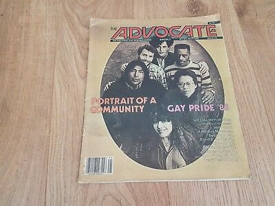 The Advocate, 1983 The National Gay Newsmagazin, ISSUE 370