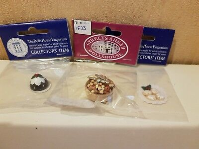 1:12th scale dolls house accessories  XMAS DECORATIONS