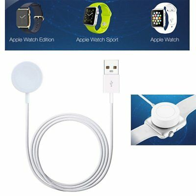 For Apple Watch 1 2 3 iWatch 38mm & 42mm Magnetic Charger Charging Pad Cable