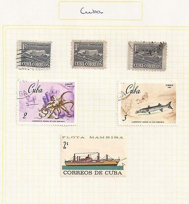 Caribbean. 6 x Small pages of stamps. What you see is what you get!