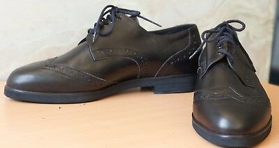 Mens Australian Handmade Leather Dancing Shoes Indoor Dance Casual Lace Up 28cm
