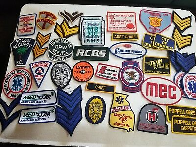 46 PATCHES MIXED !!!! Lot.3