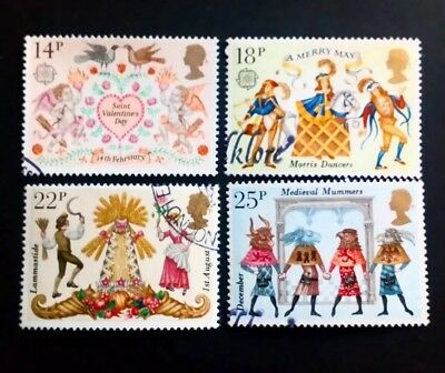 Gb Stamps Folklore 1981