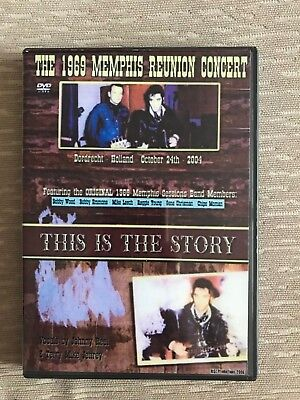 Elvis DVD The 1969 Memphis Reunion Concert recorded in Holland 24 October 2004