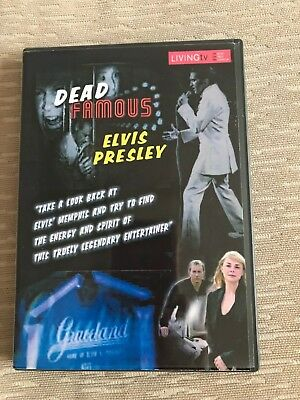 Elvis DVD Dead Famous Living TV Special on Elvis filmed in Memphis/Tupelo