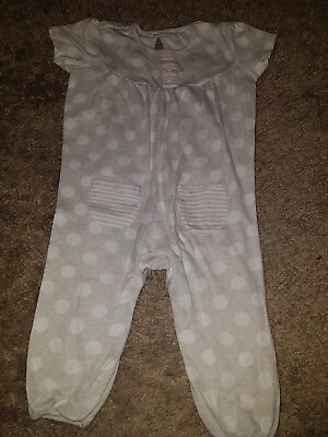 Baby Girl George Spotty all-in-one suit....6-9 months