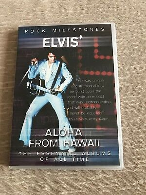 Elvis DVD Elvis' Aloha From Hawaii concert footage and documentary/interviews