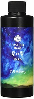 Padico Resin Liquid UV-LED Resin Star Drop Hard Refill 200g 403241 F/S