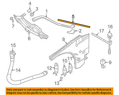 Bmw E Series Windshield Wiper Component Repment Parts