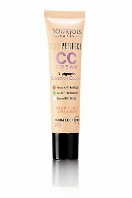 2 x Bourjois Paris 123 Perfect CC Cream SPF 15 30ml - Various Shades