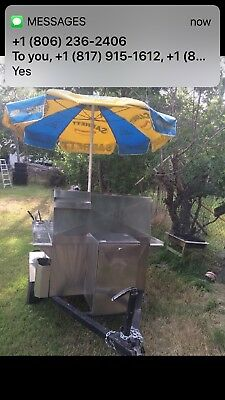 Hot dog, Burger stand with Grill