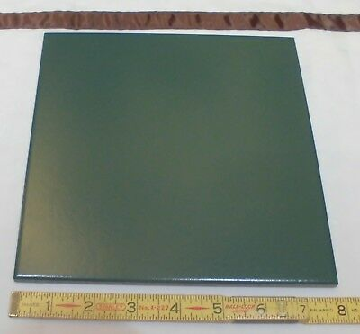 "1 pc. DALTILE *Hunter Green* Ceramic / Porcelain Floor Tile  8"" X 8"" smooth matt"