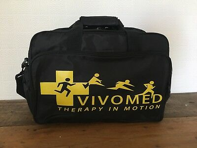 Vivo Med Therapy In Motion Physiotherapist Medic Kit Bag Black