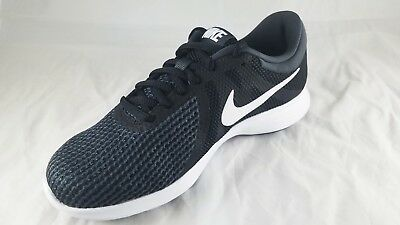 ade0a0706924 Nike Women s Revolution 4 Running Shoe Black  white-Anthracite (908999 001)