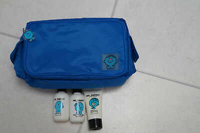 Mr Perfect Washbag, Shower Gel, Hair & Body Wash and Aftershave Moisturiser