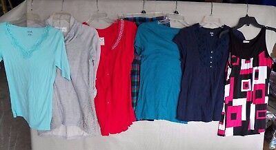7 pc Lot of Womens Clothing ~ Size Small - Shirts, Tops Only