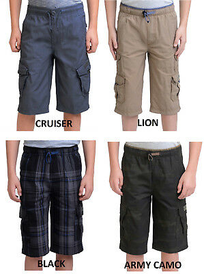 New Unionbay Boys' Lightweight Cargo Short, Variety Sizes and Color, NWT