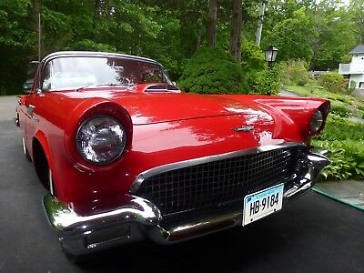 1957 Ford Thunderbird  1957 Ford THUNDERBIRD convertible RED Hard / Soft tops 1 original owner! CLASSIC