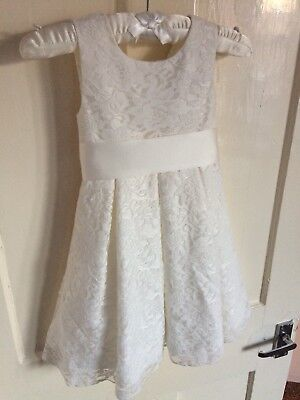 Marks & Spencer Autograph Christening/ bridesmaid Dress Age 1.5 -2 Years