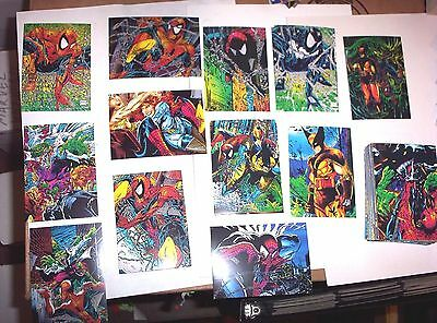 1992 1993 1994 Marvel Spider-Man Sets! All 3 Originals! Amazing Fleer + Free!