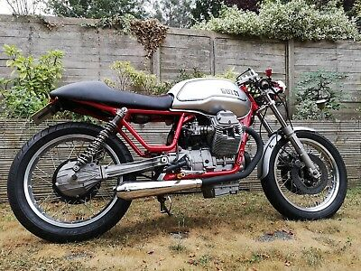 Moto Guzzi 750cc nevada Cafe Racer 1996, just restored, running, moted , perfect