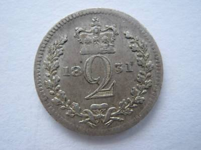 1831 Maundy Twopence VF