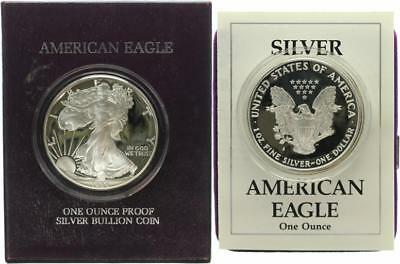 USA 1 Dollar 1988 - Walking Liberty - Silber - PP (Proof) in OVP + Zertifikat