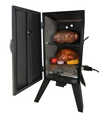 Electric Smoker Grill Steel Outdoor Commercial Cooker Smoke Digital BBQ Barbecue