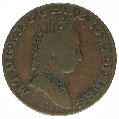 RDR Habsburg Österreich Maria Theresia 2 Liards 1752 A5472