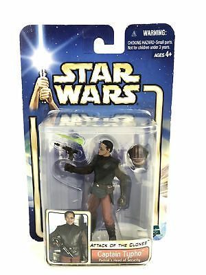 """Star Wars Saga Attack of the Clones (AOTS) 3.75"""" Figure Captain Typho #09"""