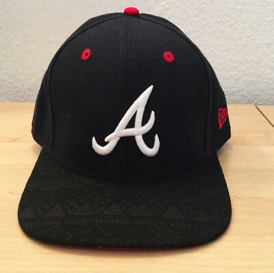 New Era Atlanta Braves Tribal Tone 9FIFTY Snapback Cap Original Fit