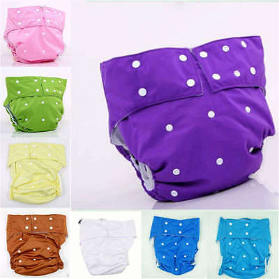 Adjustable Adult Diapers Reusable Washable Cloth Disability Incontinence Pants